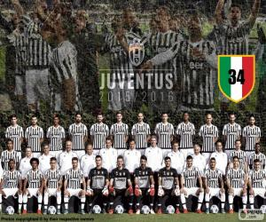 puzzel Juventus kampioen 2015-20016