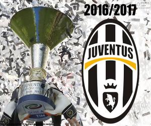 puzzel Juventus, kampioen 2016-2017
