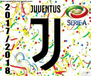 puzzel Juventus, kampioen 2017-2018