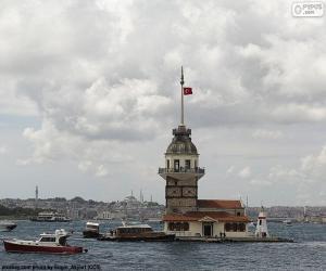 puzzel Kız Kulesi, Turkije