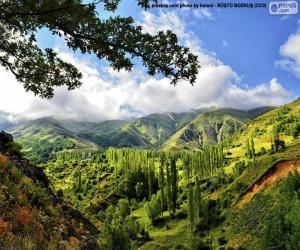 puzzel Kaakar Mountains, Turkije