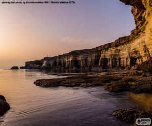 puzzel Kaap Greco, Cyprus