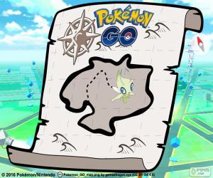 puzzel Kaart van Pokémon GO