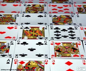 puzzel Kaartspelen van poker