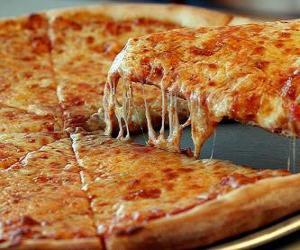 puzzel Kaas Pizza