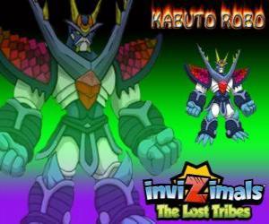 puzzel Kabuto Robo. Invizimals The Lost Tribes. Invizimal opgeleid om te beschermen de geheimen van Kenichi