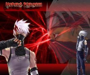 puzzel Kakashi Hatake, meester van de ninja