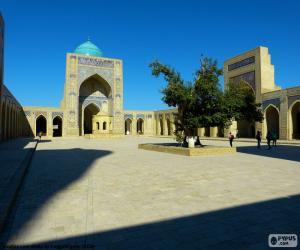 puzzel Kalyan moskee, Oezbekistan