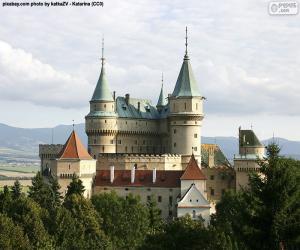 puzzel Kasteel Bojnice, Slowakije