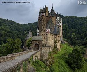 puzzel Kasteel Eltz, Duitsland