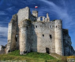 puzzel Kasteel Mirów, Polen