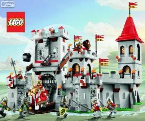 puzzel Kasteel van Lego