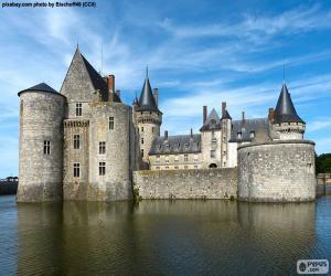 puzzel Kasteel van Sully-sur-Loire, Frankrijk