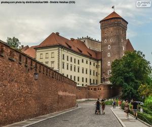 puzzel Kasteel Wawel, Polen
