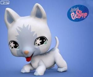 puzzel Kat van de kleinste PetShop