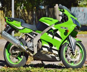 puzzel Kawasaki Ninja ZX-6R (2002)