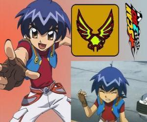 puzzel Kazuya Daidoh is de hoofdpersoon van Scan2Go en hij wil uitgroeien tot de snelste coureur in de ruimte