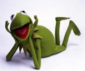 puzzel Kermit de kikker