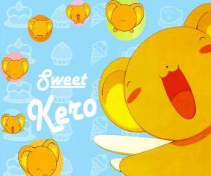 puzzel Keroberos of Kero is de aangewezen voogd van het boek dat de Clow Cards bezit