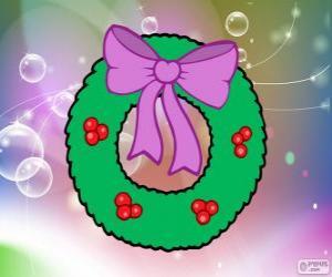 puzzel Kerst krans