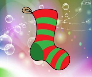 puzzel Kerst sokken