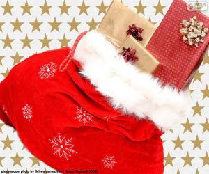 puzzel Kerst zak