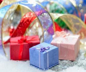 puzzel Kerstcadeaus prachtig gepresenteerd
