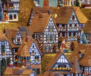 puzzel Kerstdorp
