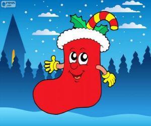 puzzel Kerstman laars