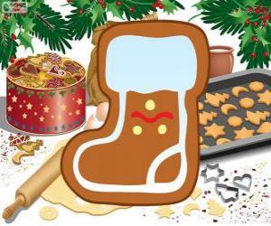 puzzel Kerstman laarskoekje