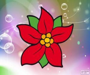 puzzel Kerstmis bloem