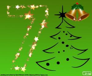 puzzel Kerstmis, nummer 7
