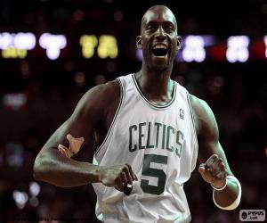 puzzel Kevin Garnett, Celtics