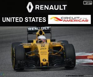 puzzel Kevin Magnussen, Grand Prix Verenigde Staten 2016