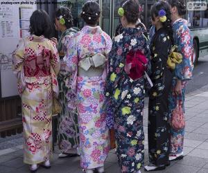 puzzel Kimono