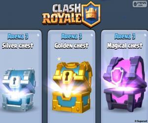 puzzel Kisten, Clash Royale