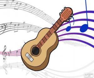 puzzel Klassieke gitaar