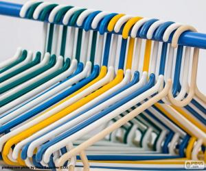puzzel Kledingkast hangers