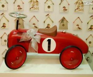 puzzel Kleine auto rit-op speelgoed voor Kerstmis
