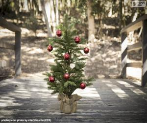puzzel Kleine kerstboom