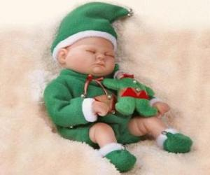 puzzel Kleine slapen goblin