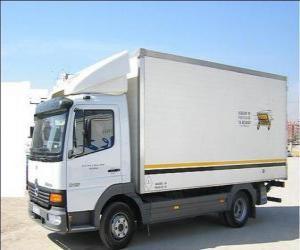 puzzel Kleine vrachtwagen