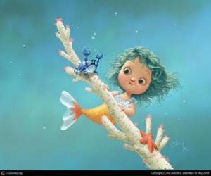 puzzel kleine zeemeermin