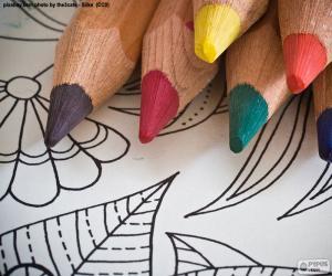 puzzel Kleurboek
