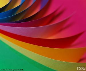 puzzel Kleuren karton
