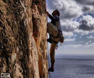 puzzel Klimmer klimmen