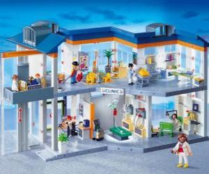 puzzel Klinische Playmobil