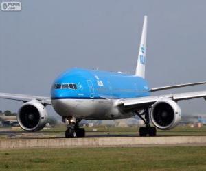 puzzel KLM Royal Dutch Airlines, Nederland