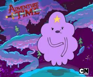 puzzel Klonterige ruimte prinses, een wolk met een ster op het voorhoofd. Lumpy Space Princess
