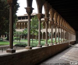 puzzel Klooster van het klooster van Pedralbes